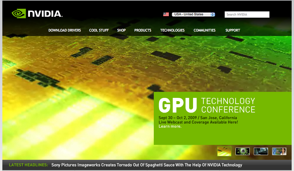 nvidia-home-page